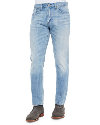Holden Slim Light-Wash Confederacy Jeans