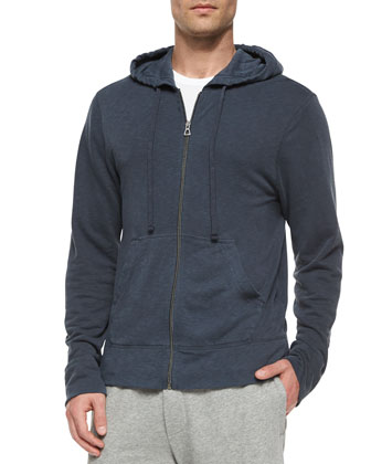 Titan Vintage Hooded Sweatshirt, Navy