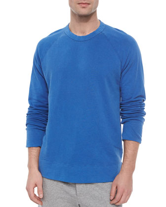 Vintage Crewneck Sweater, Blue