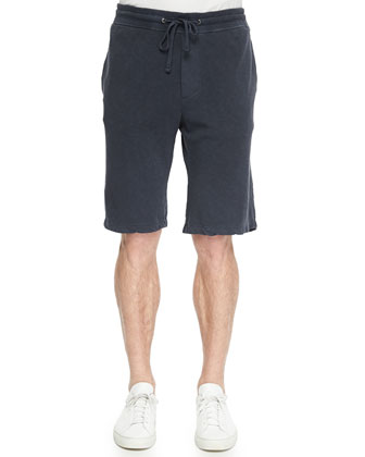 Titan Drawstring Shorts, Navy