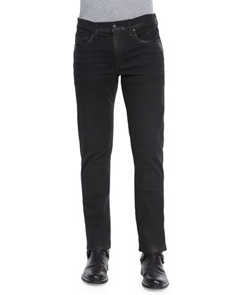 Brixton Marce Coated Jeans, Black