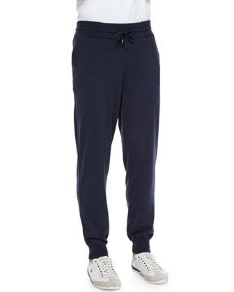 Portland Cashmere-Silk Hoodie & Jogger Pants