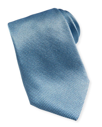 Textured Solid Tie, Lt. Blue