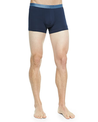 Medallion-Band Hipster Briefs