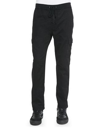 Onyx Weekend Cargo Pants, Black