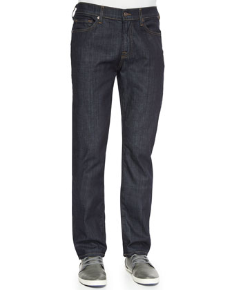 Slimmy Straight Jeans in Dark and Clean