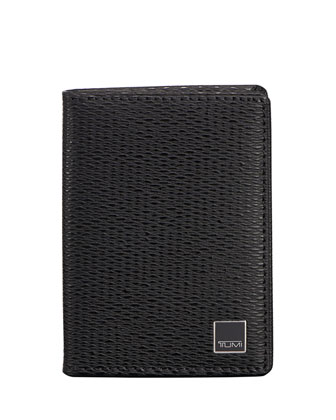 Monaco Gusseted Card Case with ID Lock Technology
