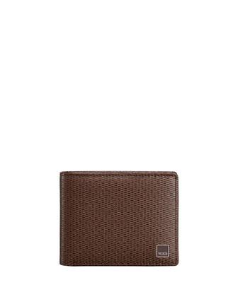 Monaco Bi-Fold Wallet, Brown