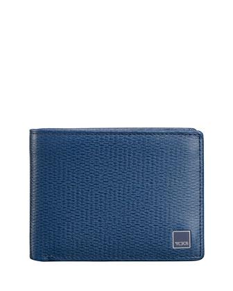 Monaco Bi-Fold Wallet, Cobalt