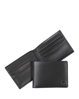 Monaco Bi-Fold Wallet, Black