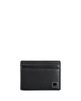 Monaco Slim Card Case, Black