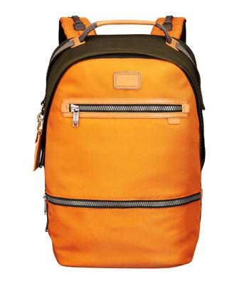 Cannon Backpack, Orange/Olive