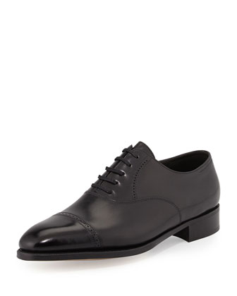 Philip II Cap-Toe Oxford, Black