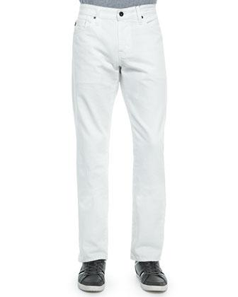 Graduate Keel Denim Jeans, White