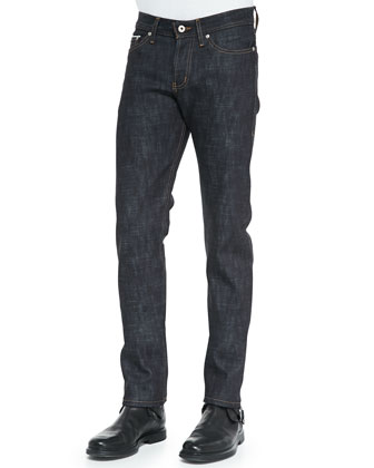 Slub Selvedge Jeans, Indigo