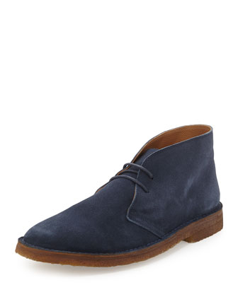Michael Suede Chukka Boot, Navy