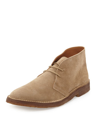 Michael Suede Chukka Boot, Tan