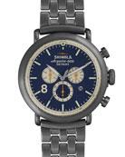 47mm Runwell Chronograph Watch, Gunmetal