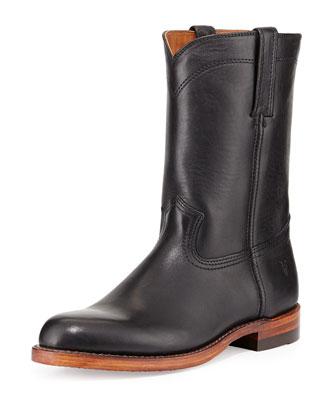 Roper Artisanal Men's Western Boot, Black