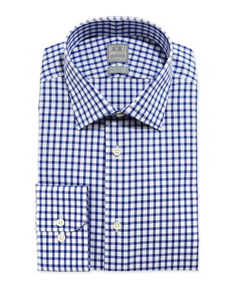 Check Dress Shirt, Blue