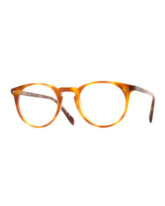 Sir O'Malley 46 Fashion Glasses, Vintage Light Brown