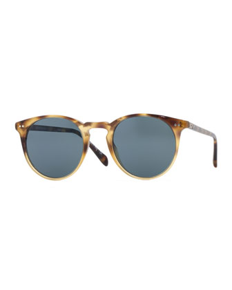 Sir O'Malley 46 Sunglasses, Vintage Brown Tortoise Gradient