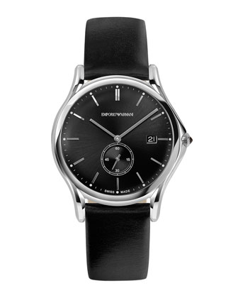 Quartz Watch, Black