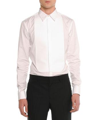 Velvet Evening Jacket, Tuxedo Poplin Shirt & Madonna Flat-Front Trousers