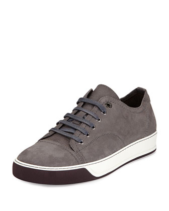 Colorblock Skater Sneaker, Tan/Gray