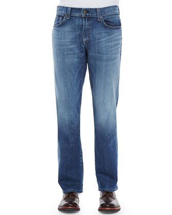 Carolina Vintage Denim Jeans, Blue