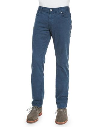 Jimmy Havana Twill Slim Pants, Medium Blue