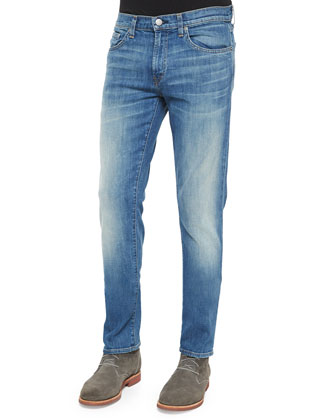 Tyler Tinted Wash Stretch Denim Jeans, Blue