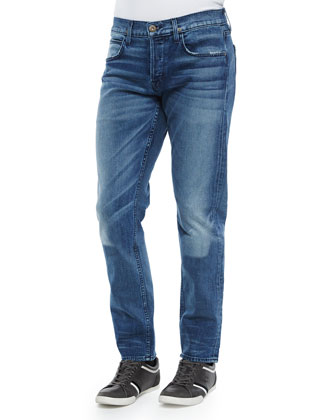 Blake Soto Slim-Straight Leg Denim Jeans, Blue