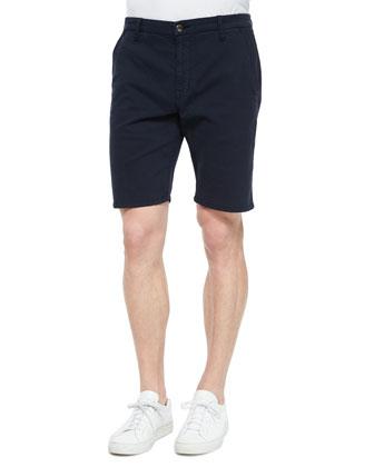 Brixton Woven Trouser Shorts, Navy