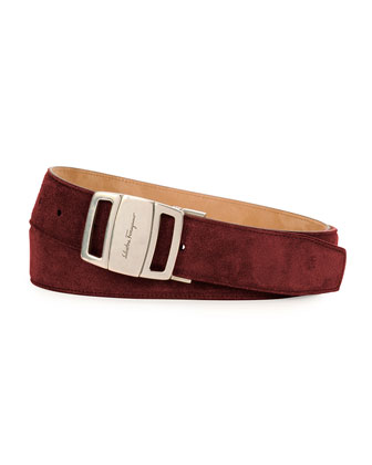 Sardegna Adjustable Belt, Wine