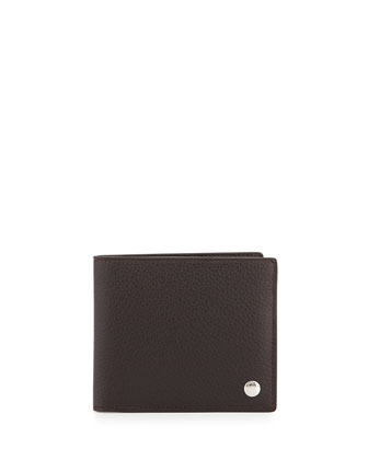 Boston Leather Wallet, Brown