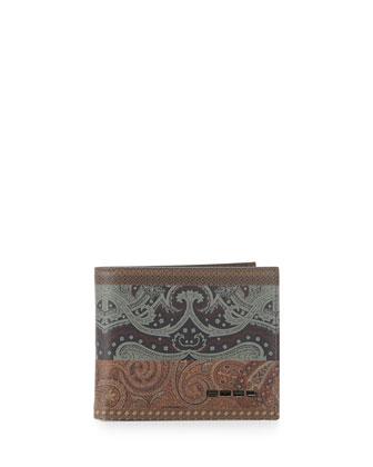 Multi-Pattern Bifold Wallet, Multi