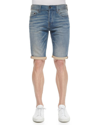 Dean Five-Pocket Denim Shorts, Desert Floor