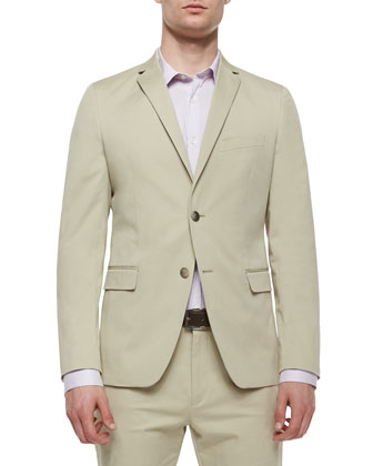 Rodolf CF HL Two-Button Blazer, Beige