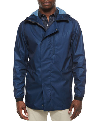 Stoll UL Windbreaker Jacket in Kamp, Royal