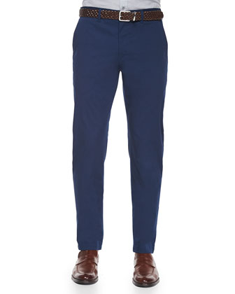 Zaine Thurlow Stretch Trousers, Royal