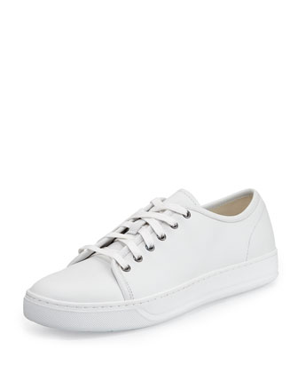 Austin Low-Top Calf Leather Sneaker, White