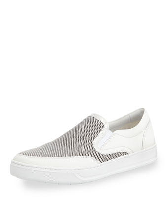 Archie Slip-on Sneaker, White