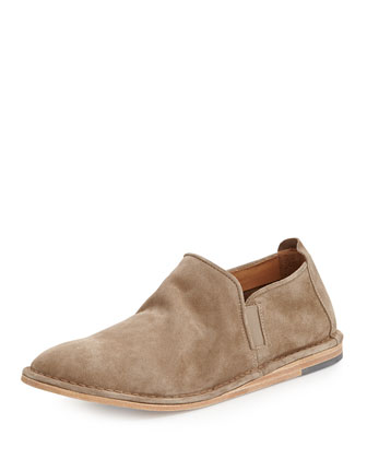 Nico Suede Slip-On Shoe, Light Brown