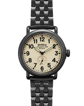 41mm Runwell Chain Watch, Gunmetal