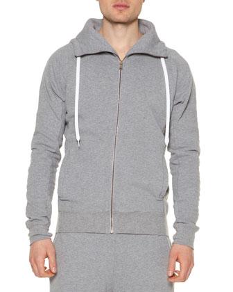Shearling Fur Zip-Up Coat, Fleece Zip-Up Hoodie & Lightweight Fleece ...