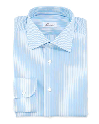 Mini-Bengal Striped Dress Shirt, Multi