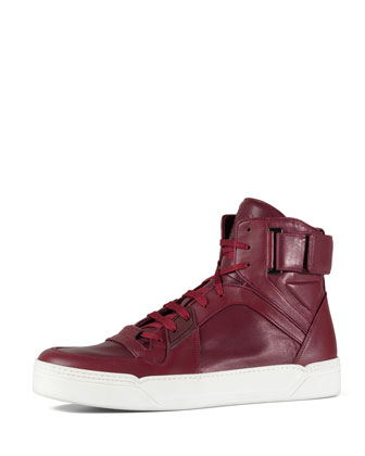 Basketball High Top, Red