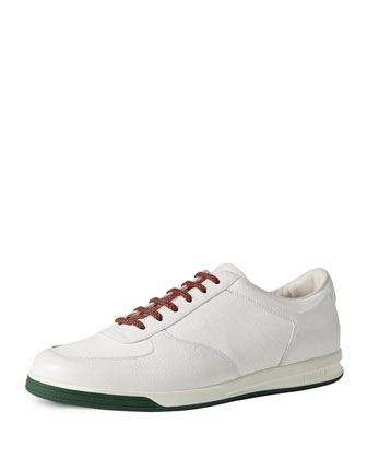 1984 Leather Low-Top Sneaker, White