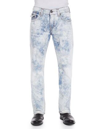 Ricky Super T Mineral Reef Denim Jeans, Light Blue